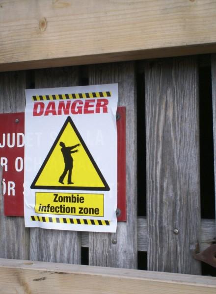Zombie sign